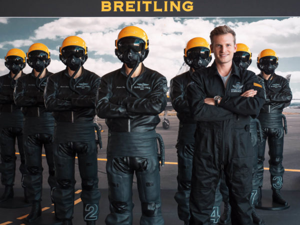 breitling takes flying to the next level