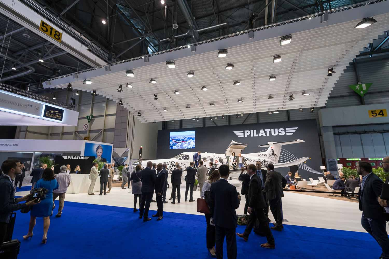 business aviation exhibition