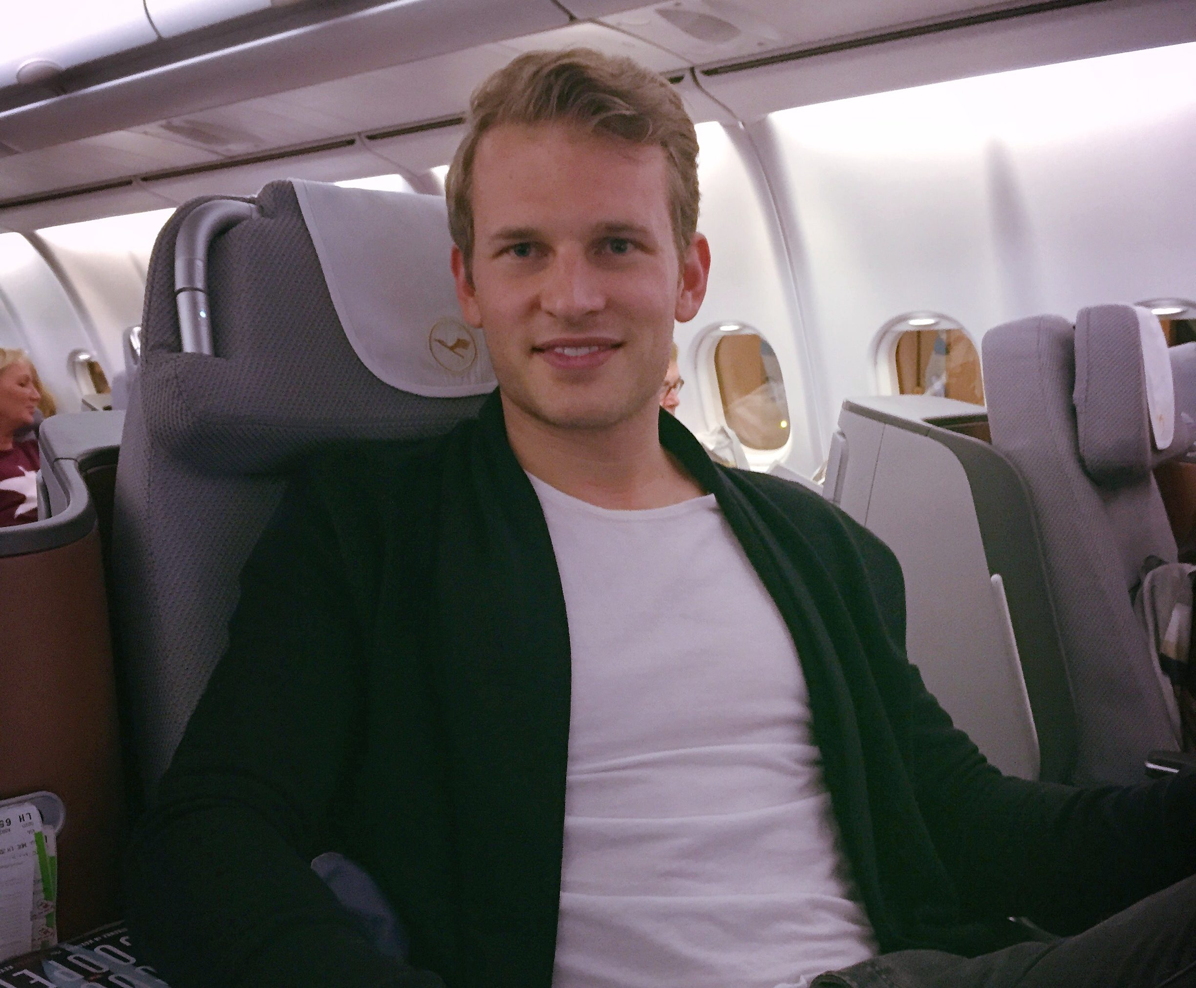 business class review Lufthansa