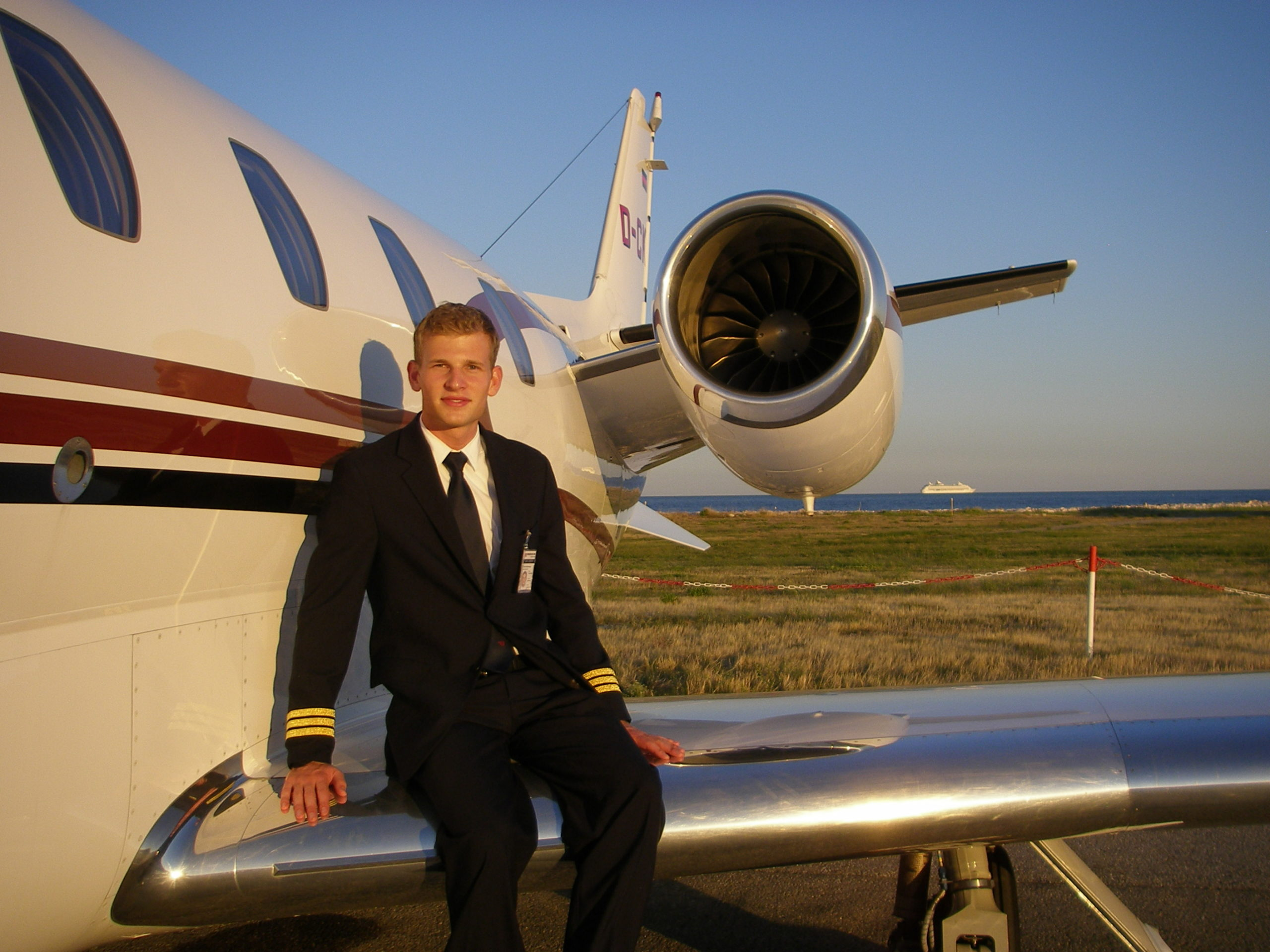 Pilot patrick in nice on the Cessna Citation XLS