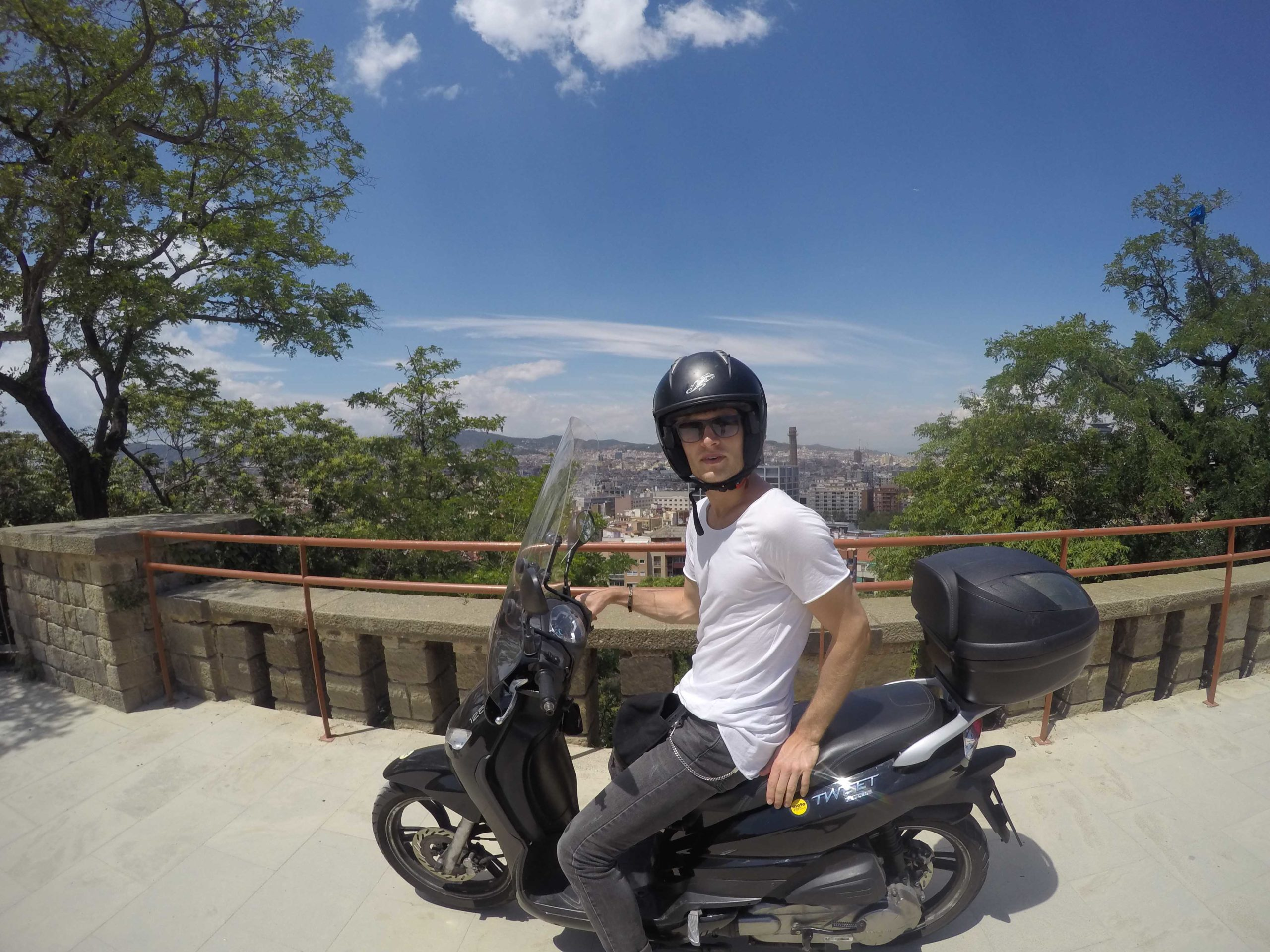 moto rent in Barcelona