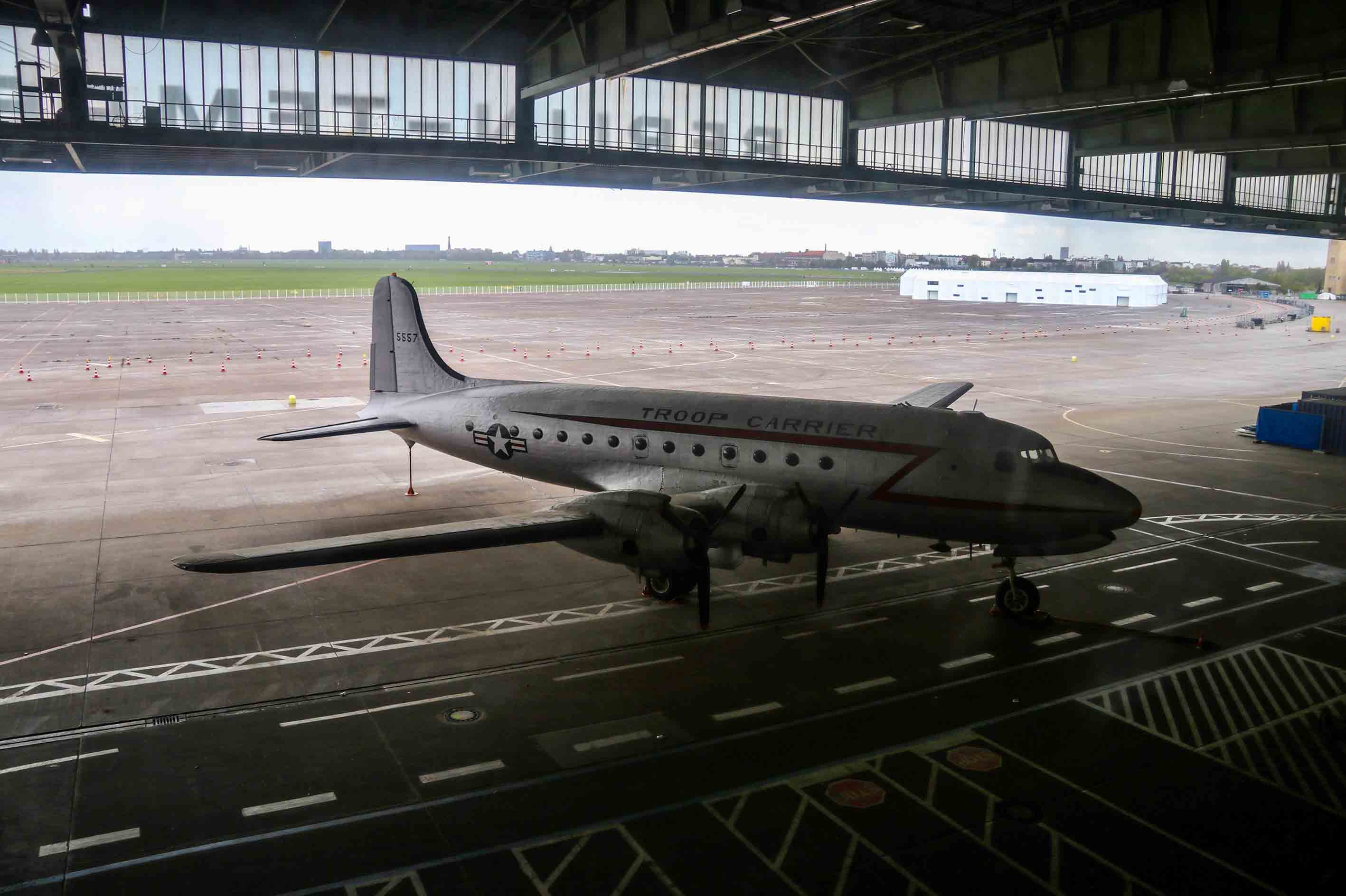 Tempelhof airport tour