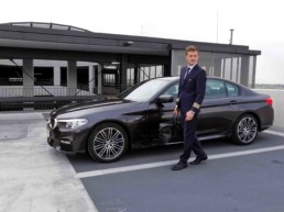 driving with bmw connected