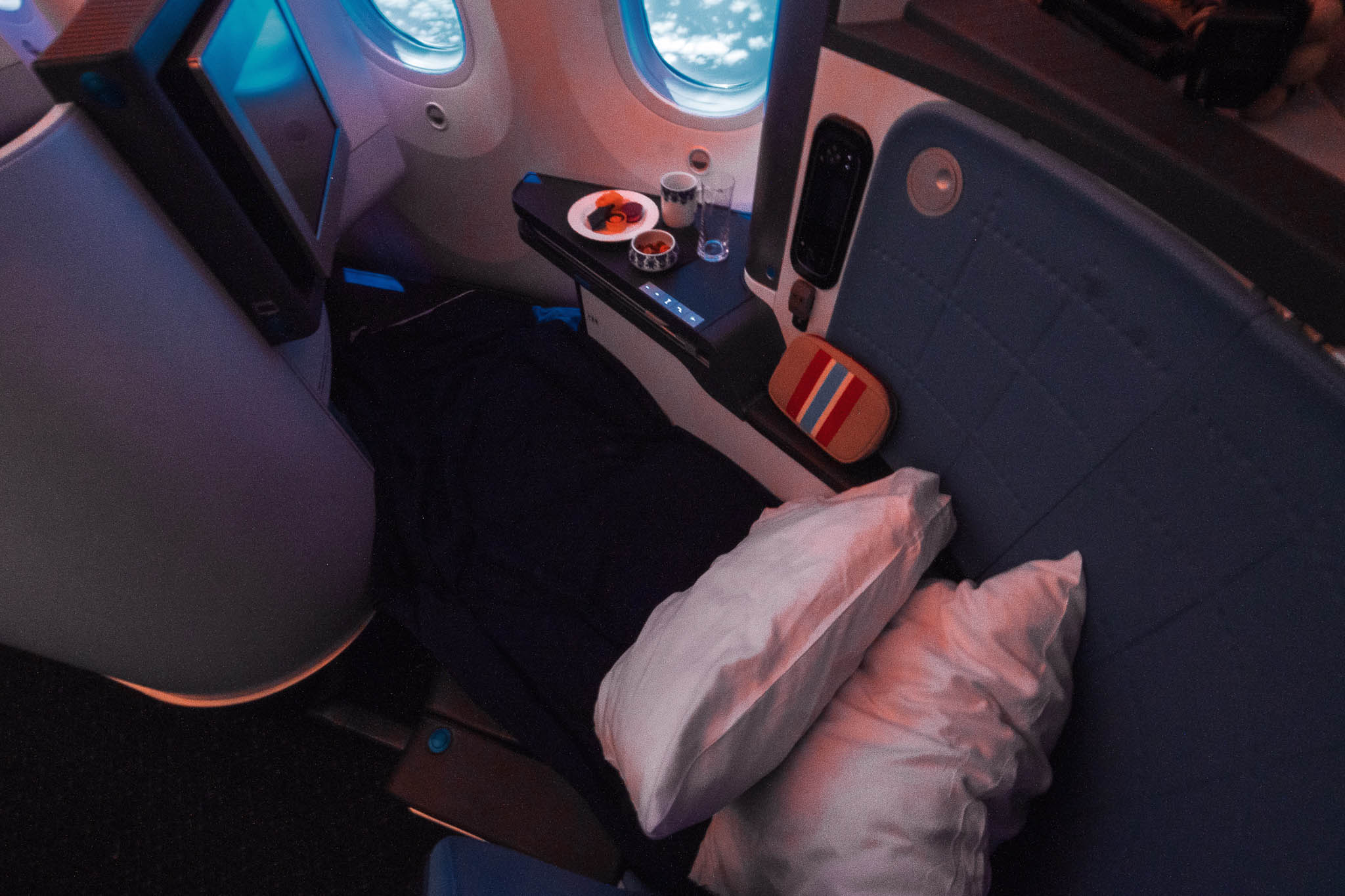 klm business class rreview