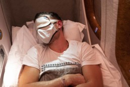 emirates business class review pandemic